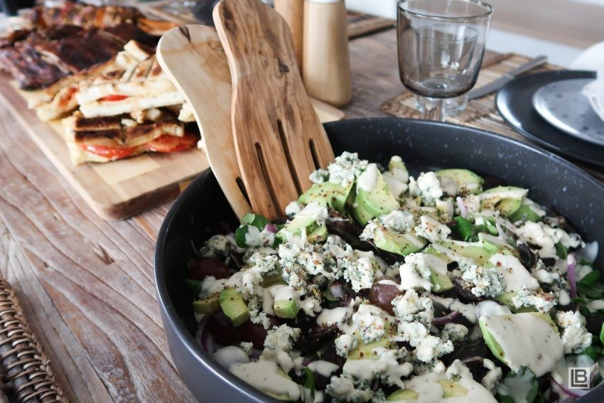 BILTONG AND BLUE CHEESE SALAD